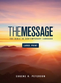 [해외]Message Bible-MS-Large Print Numbered