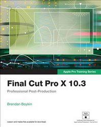 [해외]Final Cut Pro X 10.3 (Paperback)