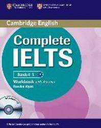 [해외]Complete Ielts Bands 4-5 Workbook with Answers with Audio CD (Hardcover)