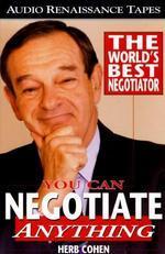 [해외]You Can Negotiate Anything (Cassette/Spoken Word)
