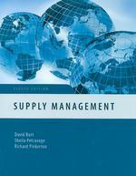 World Class Supply Management :The Key to Supply Chain Management
