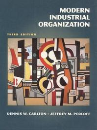 Modern Industrial Organization #