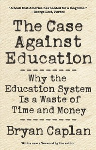 [해외]The Case Against Education
