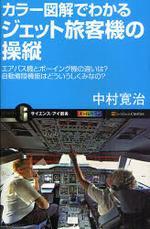 カラ―圖解でわかるジェット旅客機の操縱 エアバス機とボ―イング機の違いは?自動着陸機能はどういうしくみなの?