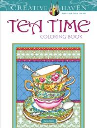 [해외]Creative Haven Tea Time Coloring Book