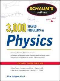 [해외]Schaum's 3,000 Solved Problems in Physics