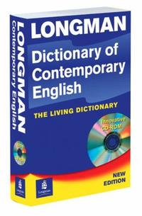 Longman Dictionary of Contemporary English 4/E (PAPER CD-ROM)