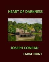 [해외]HEART OF DARKNESS JOSEPH CONRAD Large Print (Paperback)