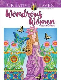 [해외]Creative Haven Wondrous Women Coloring Book
