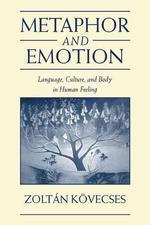 [해외]Metaphor and Emotion