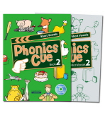 PHONICS CUE BOOK. 2: SHORT VOWELS 세트
