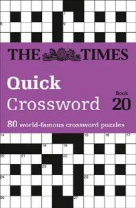 [해외]The Times Quick Crossword Book 20, 20 (Paperback)