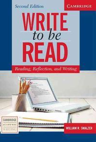 [해외]Write to Be Read Student's Book