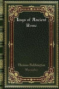 [해외]Lays of Ancient Rome