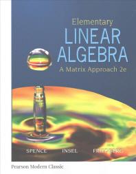 [해외]Elementary Linear Algebra (Classic Version)
