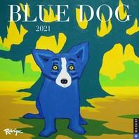 [해외]Blue Dog 2021 Wall Calendar