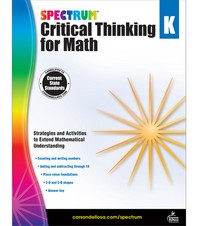 Spectrum Critical Thinking for Math. K