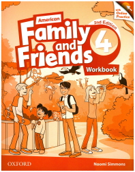American Family and Friends.4 (Workbook)(with Online Practice)