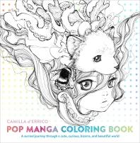 [해외]Pop Manga Coloring Book
