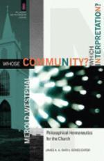 [해외]Whose Community? Which Interpretation? (Paperback)