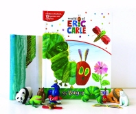 My Busy Book: Eric Carle (미니피규어 12개+놀이판)