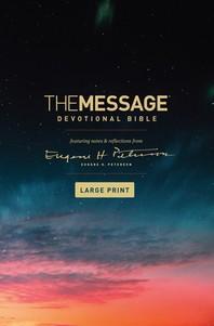 [해외]The Message Devotional Bible, Large Print (Hardcover) (Hardcover)