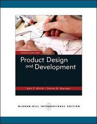 Product Design and Development 4/E