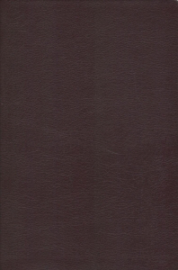 NIV, Reference Bible, Giant Print, Bonded Leather, Burgundy, Red Letter Edition, Comfort Print