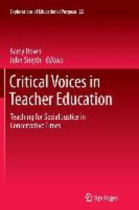 [해외]Critical Voices in Teacher Education (Paperback)