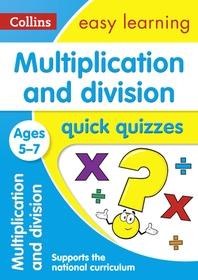 [해외]Multiplication and Division Quick Quizzes (Paperback)