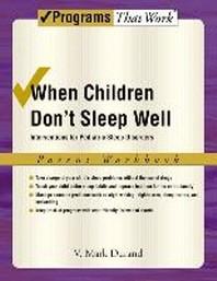 [해외]When Children Don't Sleep Well (Paperback)