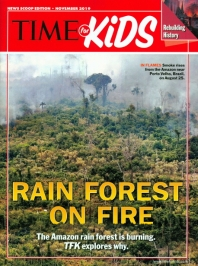 TIME FOR KIDS(NEWS SCOOP EDITION)(2018년 11월호)