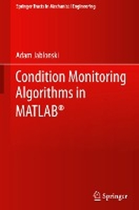 [해외]Condition Monitoring Algorithms in Matlab(r)