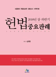 헌법 중요판례(2018년 상하반기) #