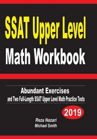 [해외]SSAT Upper Level Math Workbook (Paperback)