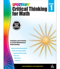 Spectrum Critical Thinking for Math Grade. 1
