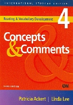 Concepts & Comments(3/E)(Reading & Vocabulary Development 4)