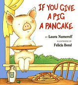 If You Give a pig a Pancake(하드커버+CD 포함) cd없음