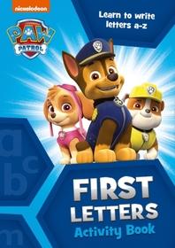 [해외]Paw Patrol First Letters Activity Book