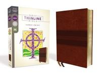[해외]Nrsv, Thinline Bible, Large Print, Leathersoft, Brown, Comfort Print