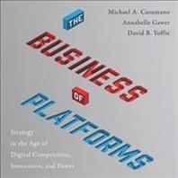 [해외]The Business of Platforms (Compact Disk)