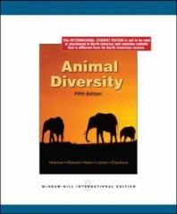 Animal Diversity 5/E (Paperback)()