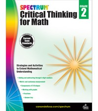 Spectrum Critical Thinking for Math Grade. 2