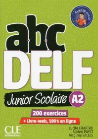 (신판)Abc Delf Junior Scolaire Niveau A2 + Dvd + Livre-Web Nc