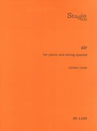 Air for Piano and String Quartet(SE 1109)