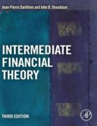 [해외]Intermediate Financial Theory