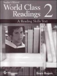 WORLD CLASS READINGS. 2 (TEACHERS MANUAL)(TAPE 별매)