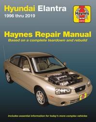 Hyundai Elantra 1996 Thru 2019 Haynes Repair Manual
