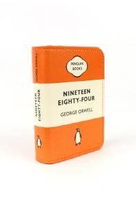 [펭귄] 카드지갑 Nineteen Eighty Four (Orange)