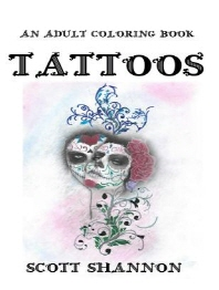An Adult Coloring Book - Tattoos